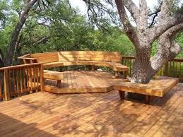 Wood Patio Designs Ideas To Get Perfect Natural Theme Backyard Wooden Patio Designs