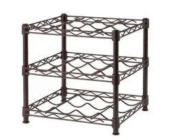 countertop wire shelving popular 3 shelf countertop wire wine rack in antique bronze products