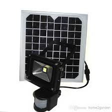 Nature Power Outdoor 144LED Solar Powered Motion Activated Solar Security Flood Light