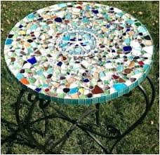 Diy Mosaic Table Tile A Inspirational Outdoor Ideas For Garden Improvement