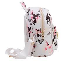 <b>2017</b> PU Leather Pocket Girl <b>Backpacks</b> Fashion <b>Bag</b> Daffodils ...