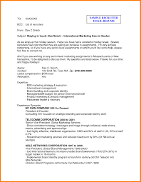 Proffesional Email Format Copy Email Resume Template Resume