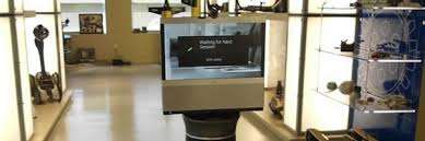 open office concepts. telepresence robots for open office concepts m