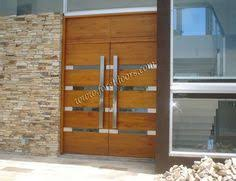 Contemporary Front Doors Oak Iroko And Other Woods Bespoke Doors