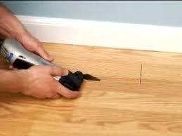 installing a floor vent dremel multi max