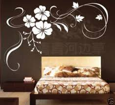 bedroom vinyl wall art for home decal sticker adorable cherry blossoms white elegance viewed black floral  on home wall arts with wall art top gallery art for home paintings for wall decor art