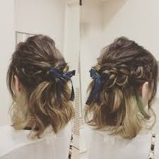 ショートヘア向け簡単にかわいくなれるアレンジ10選 Hair
