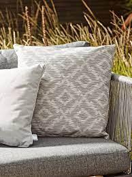 Indoor Outdoor Cushion Ikat