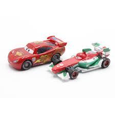 francesco bernoulli toy. Pixar Cars Foudre McQueen Vs Francesco Bernoulli Diecast Metal Mignon Jouet De Voiture Pour Enfants Cadeau To Toy