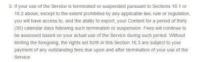 Letter To Terminate Contract With Supplier Termination Clause In Terms And Conditions Termsfeed