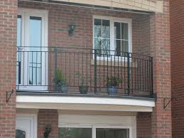 Balcony Fence exteriors country style iron black railing balcony fence brown 5641 by xevi.us