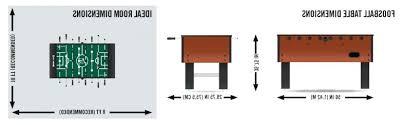 foosball table dimensions. Foosball Table Dimensions Plans .