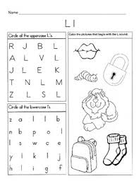 A collection of english esl worksheets for home learning, online practice, distance learning and english classes to teach about phonics, phonics. 5 Letter L Worksheets Alphabet Phonics Worksheets Letter Of The Week