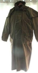 Driza Bone Australian Stockmans Oilskin Long Riding Coat