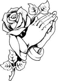Rose And Cross Coloring Pages At Getdrawingscom Free For Personal
