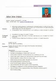 housekeeper resume samplefree resume templates