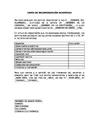 Formato De Cartas De Peticion Formatos Carta De Recomendacion Kasta Magdalene Project Org