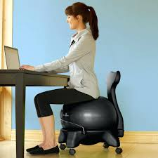 exercise ball for desk chair classic balance office reviews