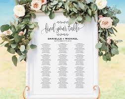 Seating Chart Wedding Sign Wedding Seating Chart Sign Seating Chart Printable Seating Chart Template Seating Board Seating Plan Pdf Instant Download Bpb202_52