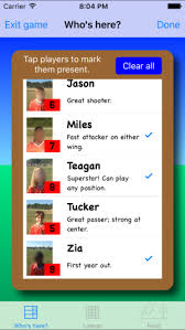 Soccer Rotation Chart Youth Soccer Lineup On The App Store