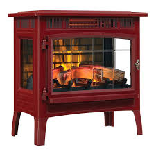 duraflame electric fireplace logs with heater cinnamon infrared 17
