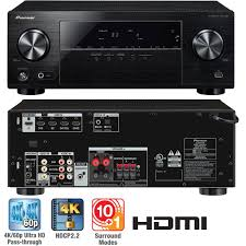 pioneer 5 channel amplifier. pioneer vsx-530-k 5.1-channel av receiver with built-in blueooth 5 channel amplifier .