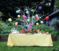 garden party ideas. Garden Party Decorations A Tree Strung With Paper Lanterns Birthday . Ideas
