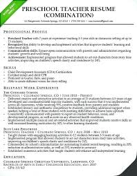 Kindergarten School Teacher Resume Sample Best of Teacher Assistant Resume Sample Preschool Teacher Resume Samples