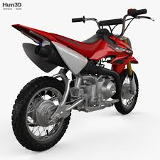 Honda crf 250l motorcycle information: Honda Crf50f 2004 3d Model Vehicles On Hum3d