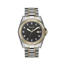 men s 98d122 diamond accent watch bulova men s 98d122 diamond accent watch