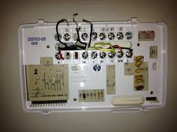 honeywell thermostat wiring diagram blue wire honeywell discover hello i am trying to wire a honeywell t8611g2028 thermostat