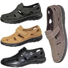 mens boys sandals nubuck suede leather summer fashion