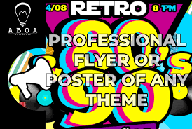Flyers Theme Design One Professional Poster Or Flyer Of Any Theme