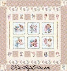 Sunbonnet Emma Quilt Pattern CJC-48061 (advanced beginner, baby) & Sunbonnet Emma Quilt Pattern CJC-48061 Adamdwight.com