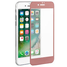 iphone 7 gold front. tempered glass 5d iphone 7/8 plus rose gold gt iphone 7 front