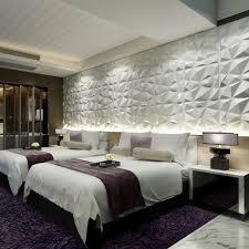 Pvc Panel Design For Bedroom Diamonds Design 3d Wall Art Panels Pvc Trend Panels