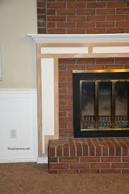 how build fireplace mantel adorable how build fireplace mantel diy 9 simple with medium image