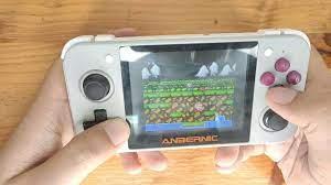 Trên tay máy chơi game RG350 - King of Retro Handheld ? - YouTube