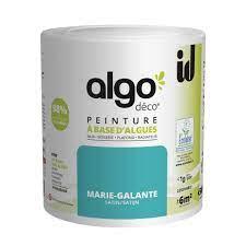 Le magasin bio ou je me sers distribue la marque biofa. Peinture Mur Boiserie Radiateur Algo Id Blanc Satine 0 5 L Leroy Merlin