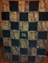pink mossy oak camo quilt patterns | Real Tree Purple Browning Rag ... & A custom Camo Rag Quilt. I use a same fabric on back as on front Adamdwight.com