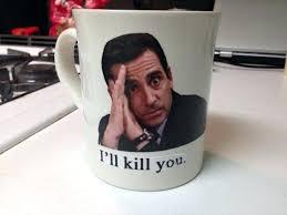 the office mug. The Office Mugs Mesmerizing Star Face Custom Coffee Mug Uk T