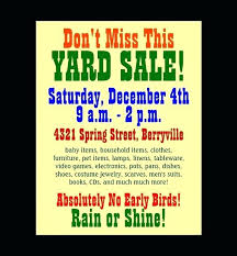 Microsoft Templates For Flyers Yard Sale Template Word Best