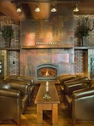 metal fireplaces