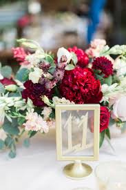 Chic Ranch Wedding in Malibu -Complete with Gorgeous Burgundy Florals. Wedding  Table NumbersWedding TablesDiy ...