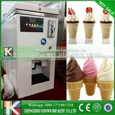 Soft Serve Vending Machine Extraordinary The New Type Coin Operated The Soft Serve Ice Cream Vending Machine