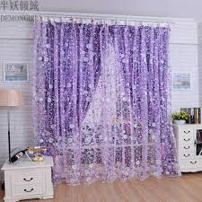 Purple Curtains For Living Room Online Get Cheap Sheer Purple Curtains Aliexpresscom Alibaba Group