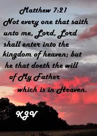 Matthew 721 Kjv Warnings Bible Scriptures Words Of Jesus King