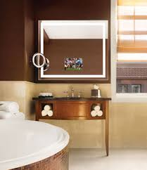 Stanford Bathroom Mirror TV Electric Mirror Water Resistant