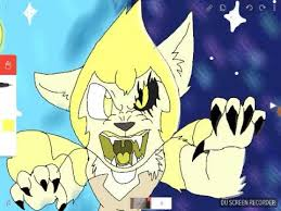 Yellow pearl the wolf 2nd speed paint - YouTube