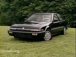 MotorWeek   Retro Review: '89 Honda Accord Coupe - YouTube